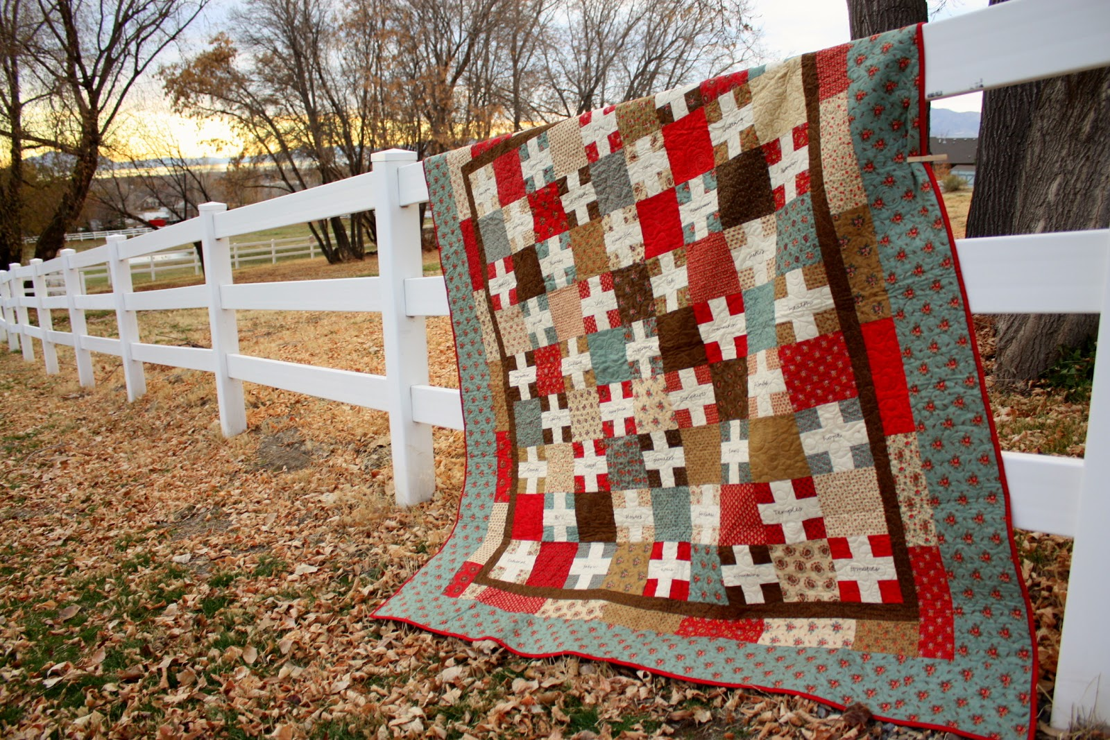 Making quilts with photos