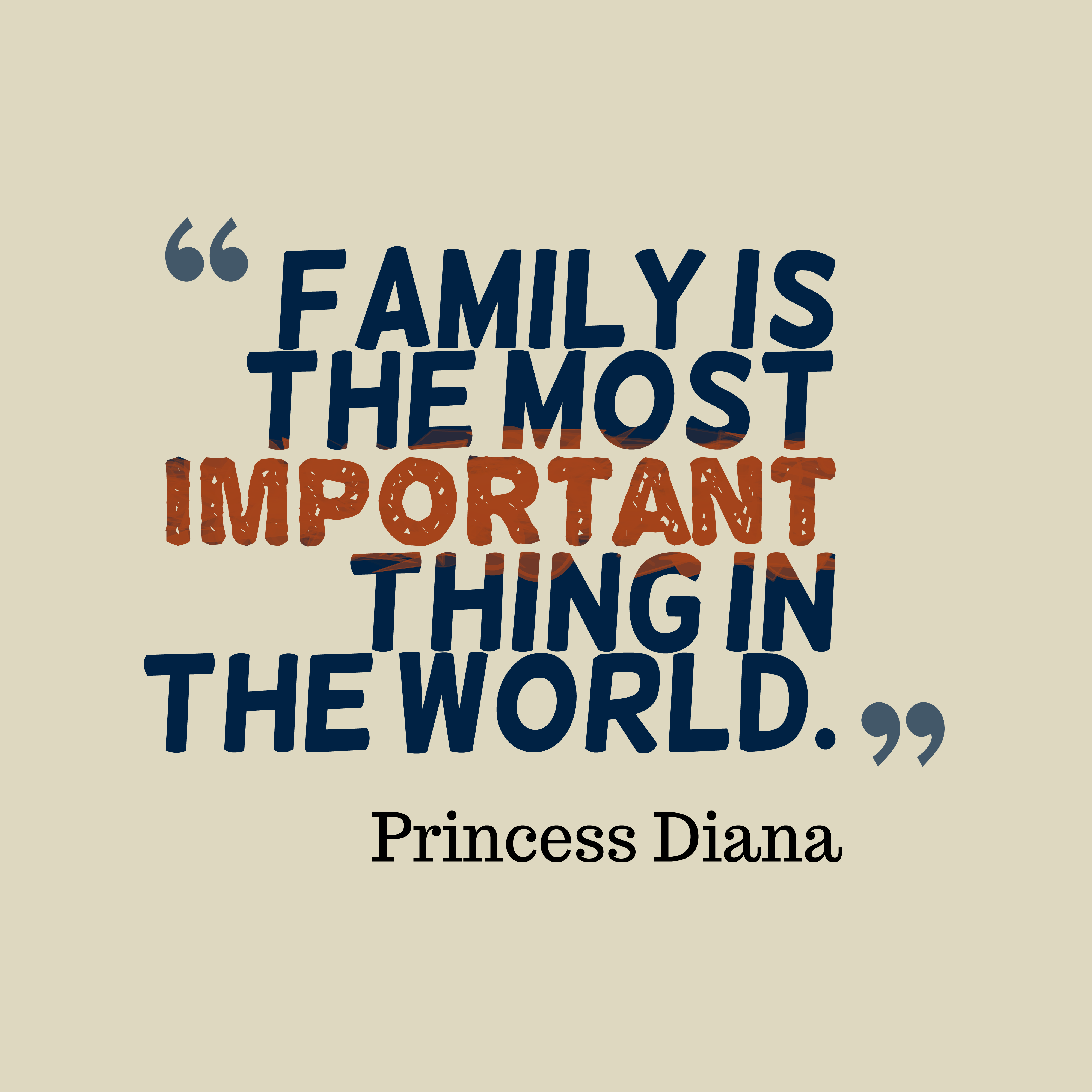 importance of your family Importance of family communication establishing a foundation for the family a foundation supports a family when crises arise, the family is able to withstand them because of the stability of the relational structure families with defined values are able to stand strong on their views despite other people's efforts to break through with.