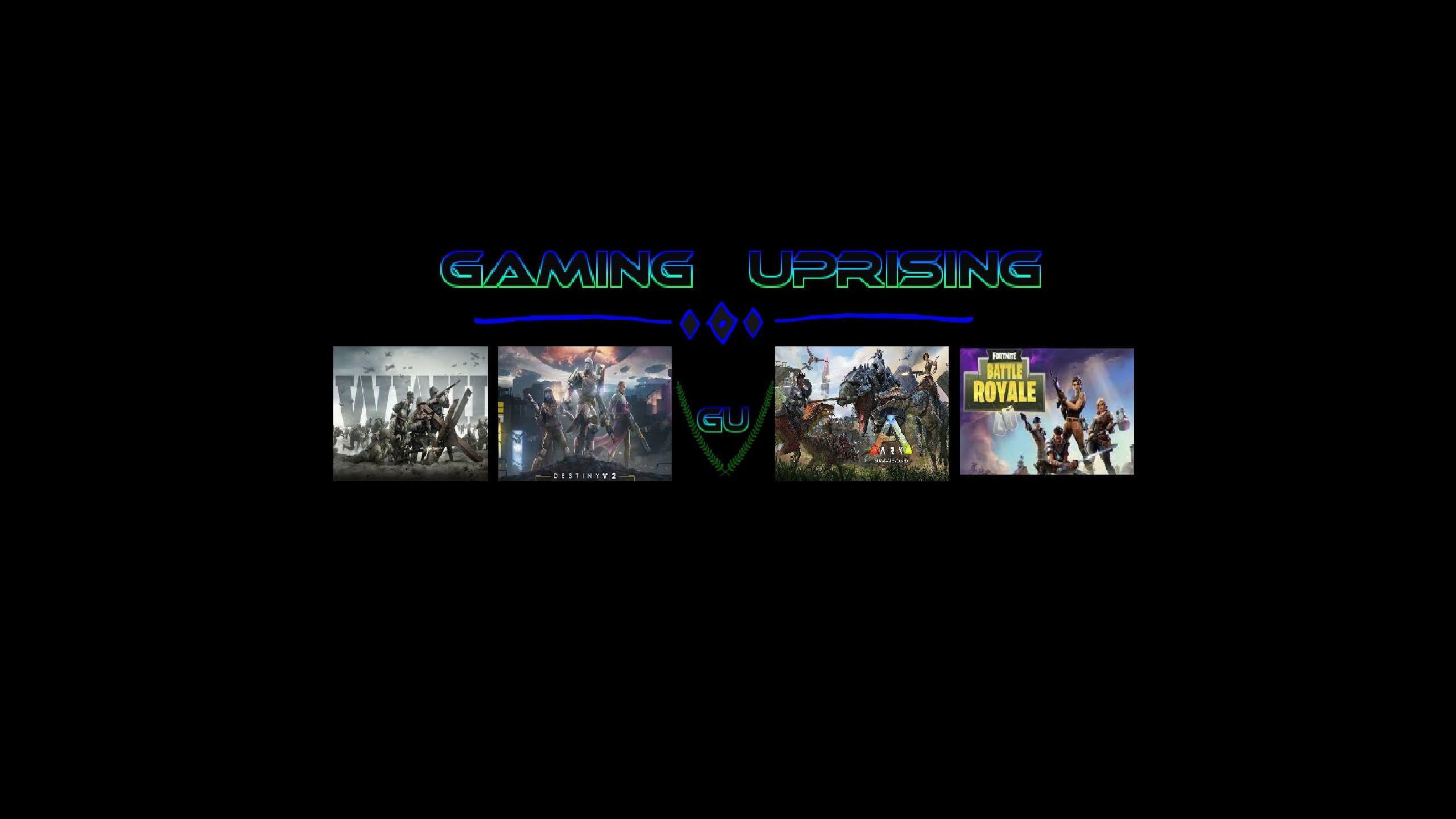 Gaming Uprising Merch Page Teespring